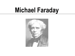 Michael Faraday - USF College of Engineering