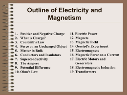 11. Electric Power