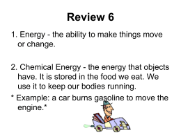 Science_Review 9_Forms of Energy