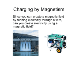 Charging by Magnetism