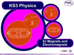 Magnets and Electromagnets - School Masters Consulting