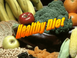 Healthy Diet - Shape Up Europe