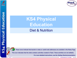 14. Diet & Nutrition File