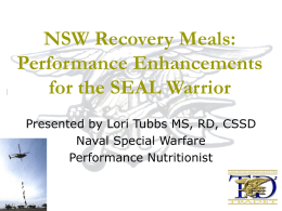 Performance Enhancements for the SEAL Warrior
