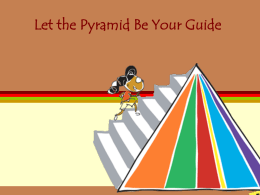 Let the Pyramid Be Your Guide Facts About