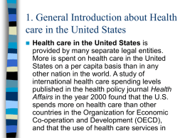 1. Health care in the United States