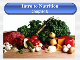 7th nutrition notes