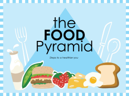 Food Pyramid powerpoint