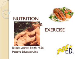 hiv and nutrition - Positive Education, Inc.