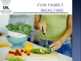barriers to family mealtime