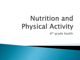 Nutrition and Physical Activity - Hatboro