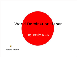 World Domination: Japan