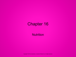 Ch 16 PPP Nutritionx