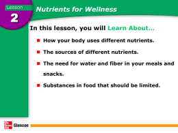 nutrition 2