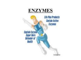 enzymes - Coosa High School