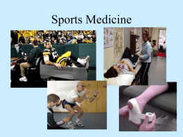 Sports Medicine - Northern Highlands Regional HS