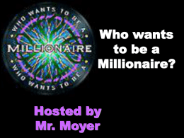 Science Living Systems Millionaire