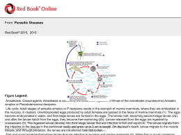 Parasitic Diseases - AAP Red Book