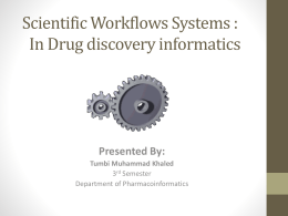 File - Department of Pharmacoinformatics