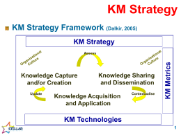 KM Strategy - Stellar Leadership