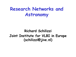 VLBI: connecting national radio telescopes into a global array