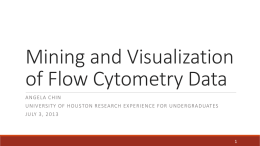 Mining and Visualization of Flow Cytometry Data