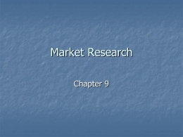 Market Research - University of Rio Grande & Rio Grande