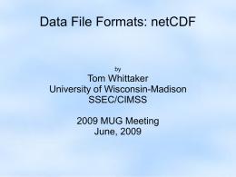 the NetCDF ( nc) and CDL | studyslide com