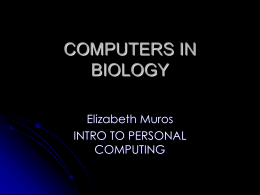 COMPUTERS-IN-BIOLOGY