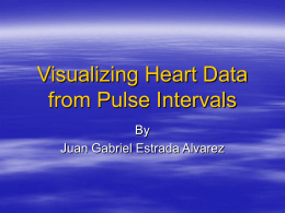 Visualizing Heart Data from Pulse Intervals
