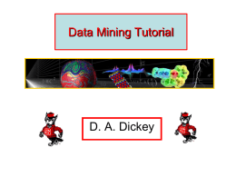 older_Data Mining Tutorial
