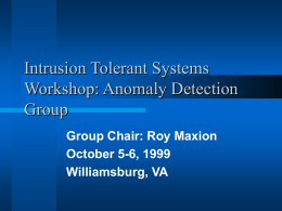 Detection Group Day 2