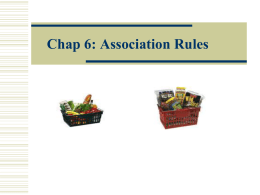 Association Rules - s3.amazonaws.com