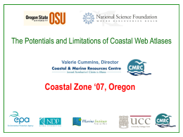 The Potentials and Limitations of Coastal Web Atlases