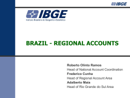 Regional accounts of Brazil - United Nations Statistics Division