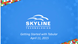 [Powerpoints] - Getting_Started_with_Tabularx