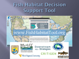 Brook trout habitat prioritization tool