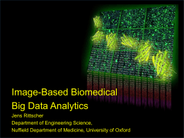 Developing Big Data Image Analytics for Advancing Drug