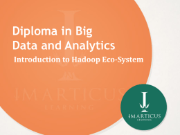 2 0_Introduction to Hadoop Eco-System
