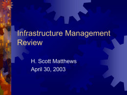 Infrastructure Management?