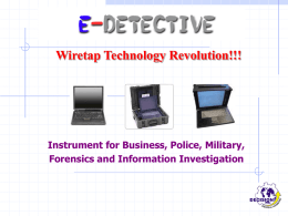 E-Detective may capture the signal in air Ranging from 50 to 100