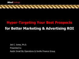 Hyper-Targeting Your Best Prospects for Better Marketing