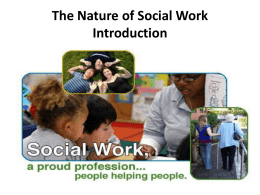 Nature of Social Work