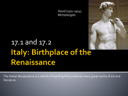 chapter 17_1 italy_ birthplace of the renaissance