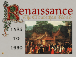 The Renaissance began in fourteenth-century Italy