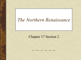 17.2 The Northern Renaissance