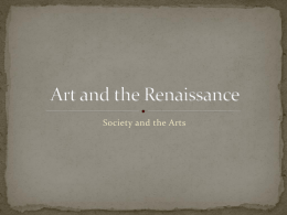 Art and the Renaissance