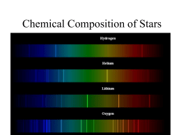Chemical Composition of Stars II