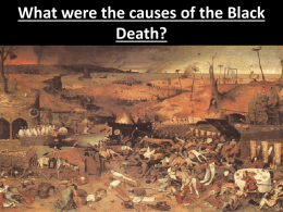 What were the causes of the Black Death?
