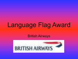 Language Flag Award